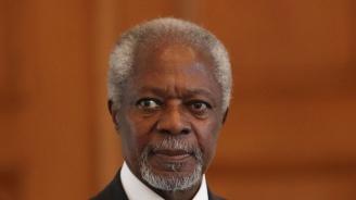 След кратко заболяване почина бившият генерален секретар на ООН Кофи Анан