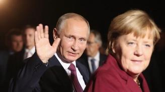 Всичко, което се случи на срещата между Путин и Меркел