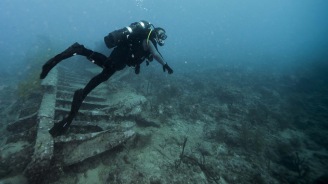 Подводна експедиция от НИМ откри неизвестна крепост край остров Свети Тома