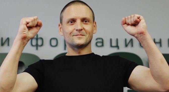 Руският опозиционер Сергей Удалцов, който е в гладна стачка, е