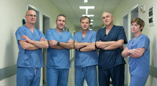 Млади надежди в трансплантологията от Военномедицинска академия-София дадоха шанс за