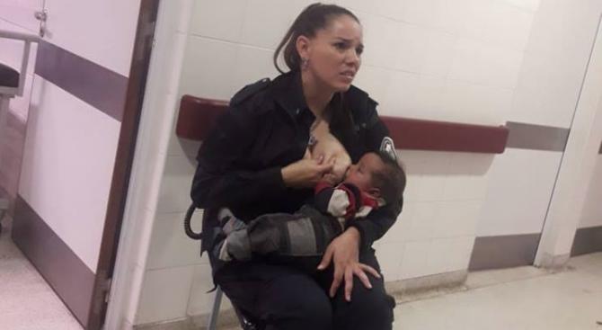Аржентинската полицайка Селест Аяла се превърна само за една нощ