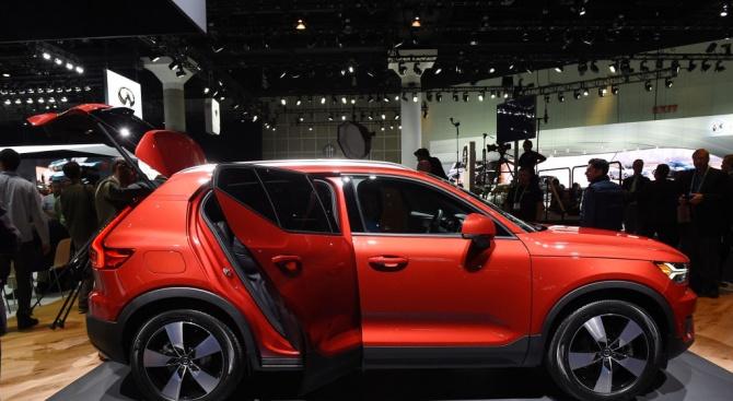 Първият трицилиндров двигател на Volvo дебютира в Европа