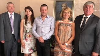 Областният управител на София се срещна с руския посланик
