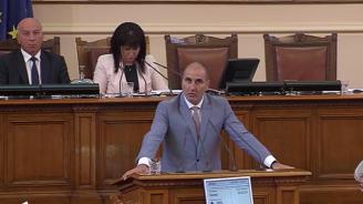 Цветанов: Дали проблемът с Търговския регистър не е умишлен саботаж? (видео)