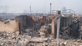 Разрушиха мола-ковчег в руския град Кемерово