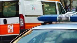 Мерцедес и линейка се удариха в Пловдив