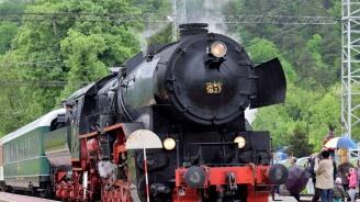 Атракционен влак с парен локомотив ще пътува по повод Деня на независимостта