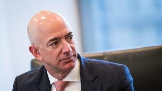 """Шефът на """"Амазон"""" печели 4,5 млн. долара на час"""