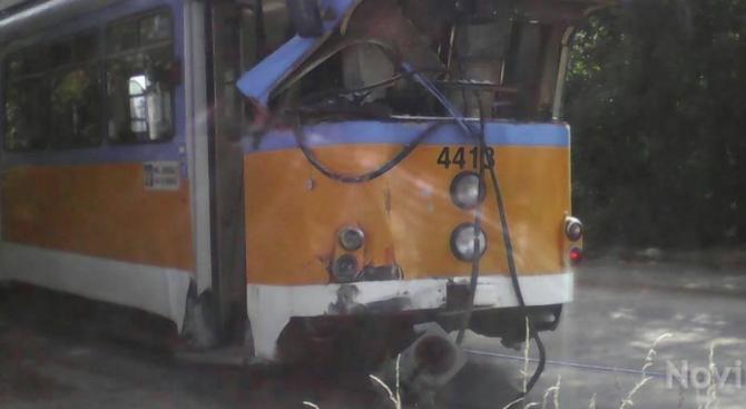 Трамвайната мотриса, причинител на инцидента снощи е модел Дюваг ГТ8,