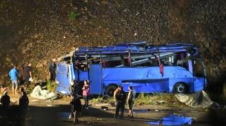 Съдът решава да остави ли в ареста шофьора на автобуса ковчег