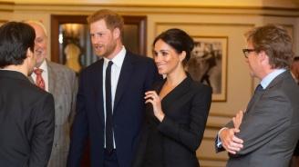 Меган Маркъл наруши кралския протокол с неприлично къса рокля (снимки)