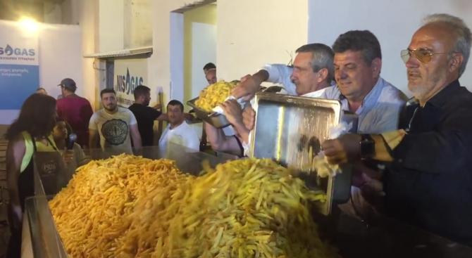 На гръцкия остров Наксос подобриха рекорда на Гинес за най-голяма