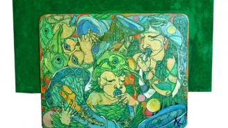 Христо Кралев, който нарисува чудото на живота, с изложба в София