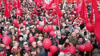 Противници на пенсионната реформа протестират в Русия