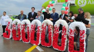 Летище Бургас посрещна 3-милионния си пътник (снимки)