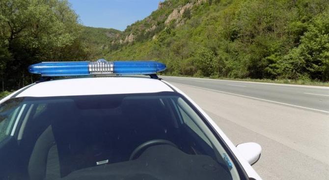Сигнал за пътен инцидент в района на 19-и км по