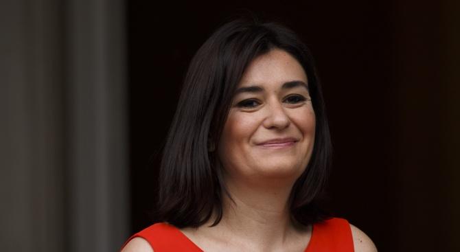Испанската министърка на здравеопазването Кармен Монтон вчера подаде оставка, на