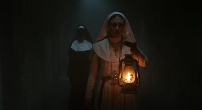 """Психотрилърът """"Монахинята"""", базиран върху вече познатият образ от """"Заклинанието 2"""","""