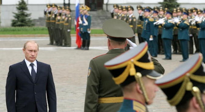 "На полеви военен парад на полигона ""Цугол"" в руския Забайкалски"