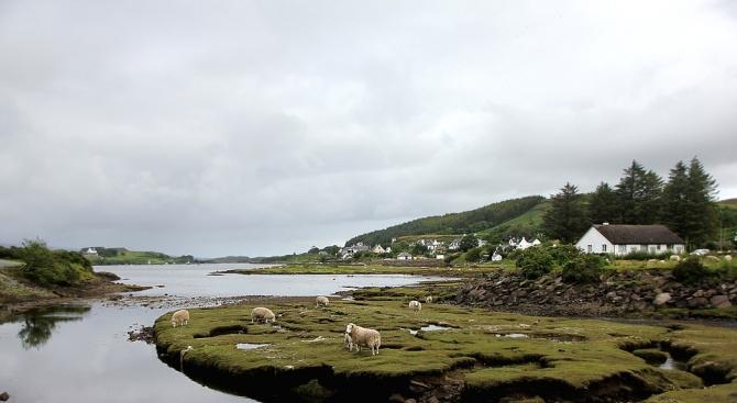 Спокойствието на шотландския остров Джиабеше нарушено от кражба, която споредместните