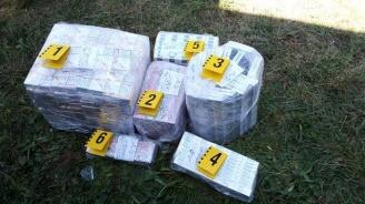При спецакция в Годеч иззеха близо 28 000 къса контрабандни цигари (снимка)
