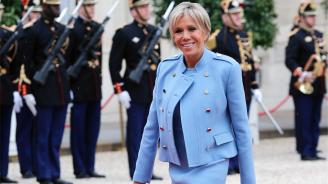 Брижит Макрон участва във френски телевизионен сериал