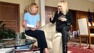 Лили Иванова се срещна с Фандъкова (снимки)