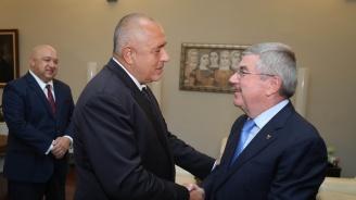 Бойко Борисов се срещна с президента на Международния олимпийски комитет Томас Бах