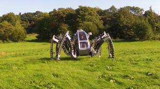 Вижте най-големия робот в света (видео)
