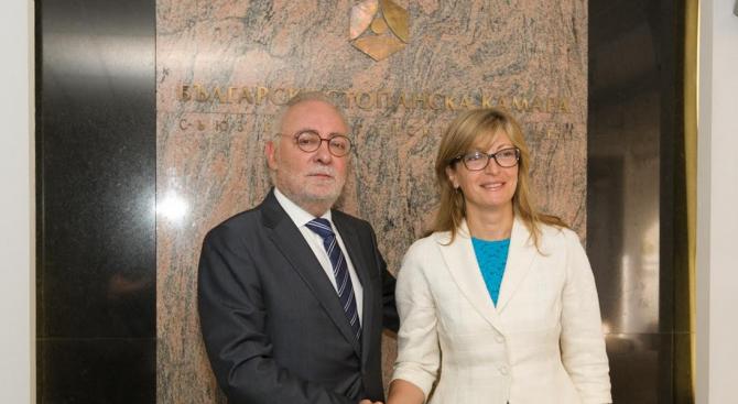 Захариева: Сред основните задачи на българската дипломация е да подпомага бизнеса (снимки)