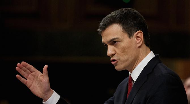 Испанският премиер Педро Санчес обяви, че ще настоява за отмяна