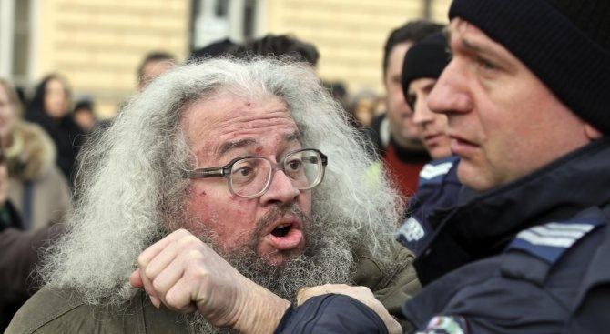 Николай Колев-Босия, който предприе гладна стачка заради корупция при шофьорските