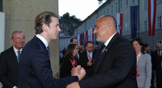 Премиерът днес е в Залцбург, Австрия Бойко Борисов присъства на