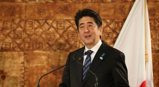 Японският премиер Шиндзо Абе бе преизбран в четвъртък с голямо