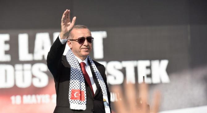 Турският президент Реджеп Тайип Ердоган няма да държи реч пред