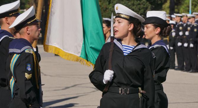 Курсанти от Военноморското училище се заклеха (снимки)