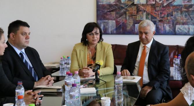 """""""Получихме предложение за основа на националния ни проект за единение"""