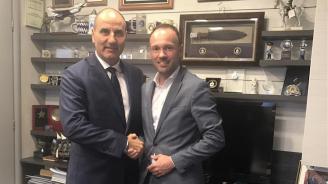 Цветан Цветанов се срещна с депутата от Германския Бундестаг Николас Льобел (снимки)