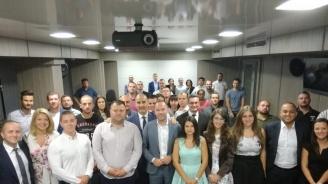 Цветан Цветанов присъства на среща между депутата от Германския Бундестаг Николас Льобел и младежите от ГЕРБ-София (снимки)