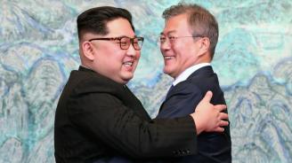 Южнокорейският президент пристигна в Пхенян