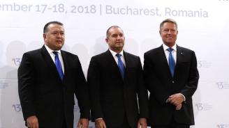 Продължава визитата на Румен Радев в Букурещ