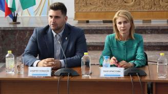 """Андрей Новаков участва в граждански диалог на тема """"Бъдеще на Кохезионната политика на Европейския съюз"""""""