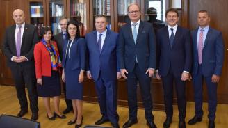 Сотир Цацаров се срещна с главния прокурор на Бавария