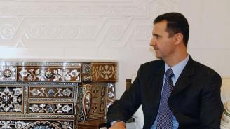 Асад изпрати съболезнования на Путин след свалянето на военния самолет край Сирия