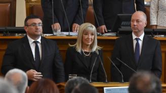 Парламентът избра тримата нови министри (снимки+видео)