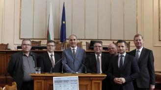 Цветан Цветанов се срещна с политици и депутати от ХДС (снимки)