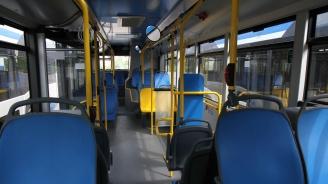 Автобус на градския транспорт се запали в движение