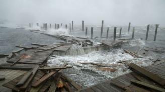 Силна буря връхлетя Скандинавия