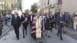 Цветанов се включи в празничното шествие във Велико Търново (снимки)